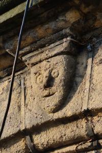 Haworth Old Hall Carved Stone Head